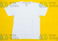 Белая футболка с фото в стиле поп-арт с надписью «GUZ»