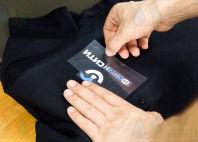 Черные рубашки-поло с логотипом «ФОНТАНСИТИ»