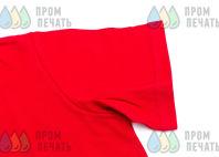 Красные футболки-поло с логотипом «MOSCARWASH»