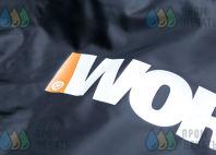 Черные куртки с логотипом «WORX»