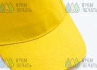 Желтые бейсболки с надписью «КРЕСТОВОЗДВИЖЕНСКИЙ ХРАМ»