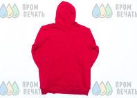 Красные толстовки с логотипом «МОСИГРА»