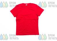 Красные футболки с логотипом «Домодедово»