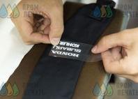 Черные рюкзаки с логотипом «МОБИЛ.К»