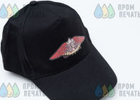 Черные бейсболки с логотипом «RED WINGS»