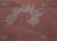 Коричневых фартуки с логотип «Lions Bouquet»
