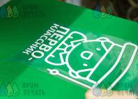 Зеленые футболки с принтом «ПЕРВО-классник»