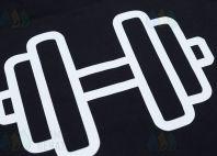 Футболки с надписью «Ривер Фитнес»