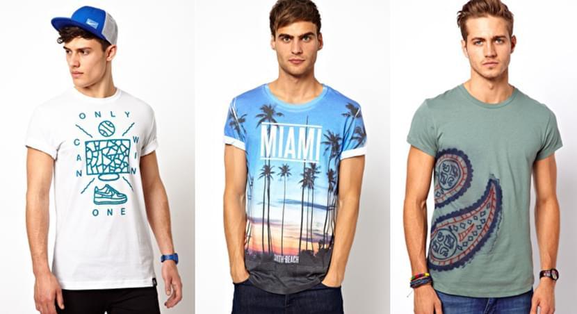 Фото парней в модных футболках 2019 с принтами