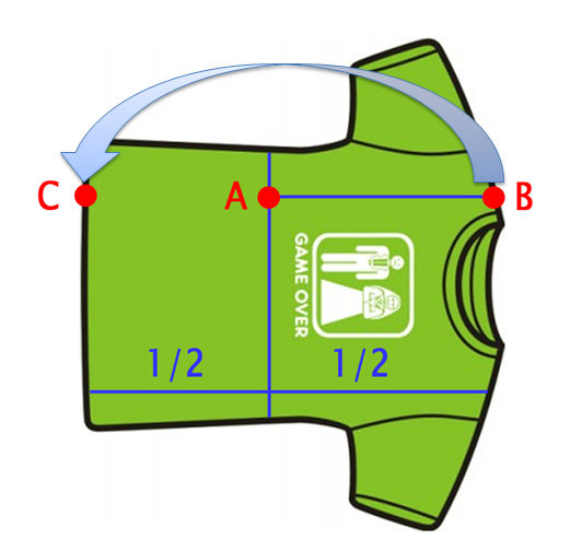Фото инструкции как сложить футболку за секунду