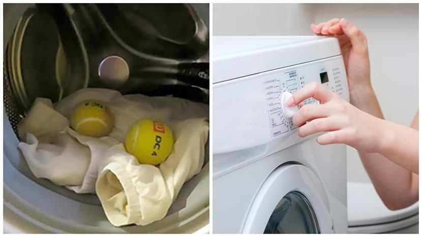 Фото вспушивания куртки с пухом после стирки в стиральной машинке