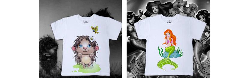 Фото футболок с красивыми изображениями для девочек