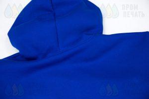Синие толстовки с логотип «ТрансВэйЭкспресс»