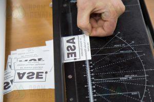 Кружки с надписью «ASE»