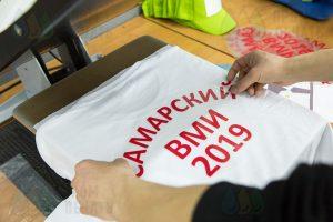 Футболки с надписью «САМАРСКИЙ ВМИ»