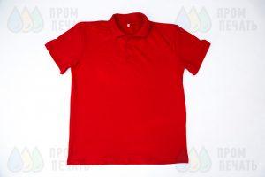 Красные рубашки поло с логотип «ТрансВэйЭкспресс»