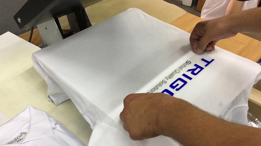 Фото выездной печати логотипов